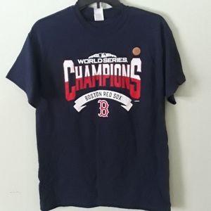 NWT Red Sox 2018 world champion tshirt
